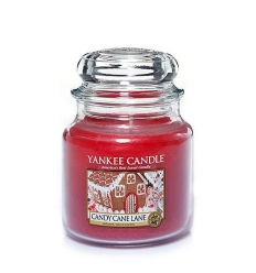 Candy Cane Lane (Średni słoik)